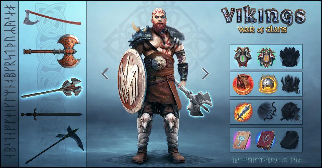 Crea un poderoso Clan de Vikingos