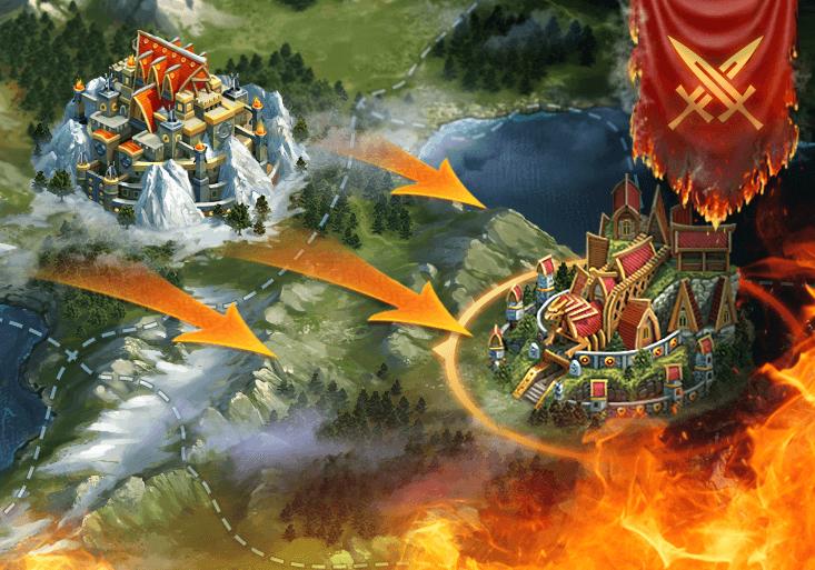 La Bataille des Royaumes débute