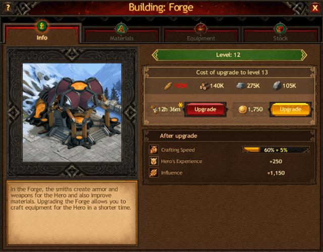 Vikings: War of Clans Hero Buildings Guide