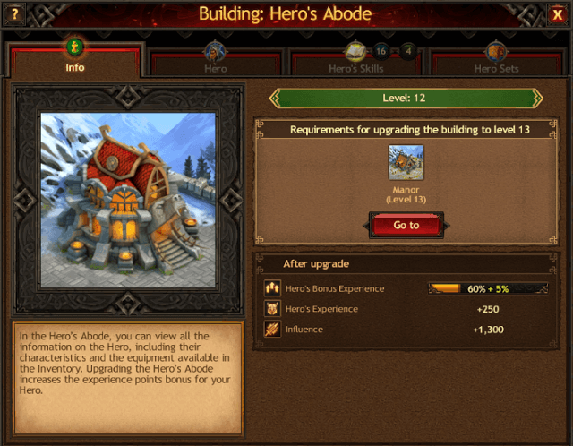 Vikings: War of Clans Hero Buildings Guide