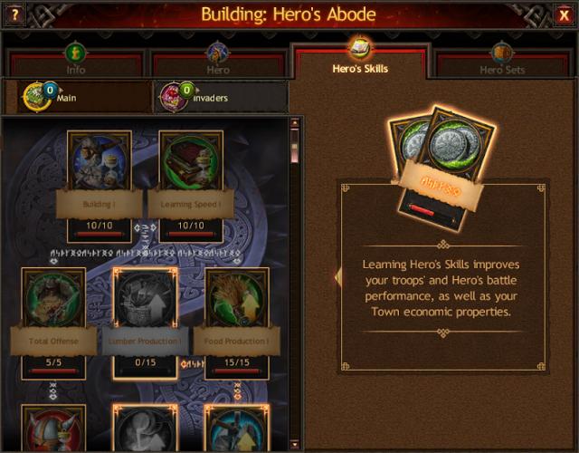 Hero Equipment and Skills Guide - Skills