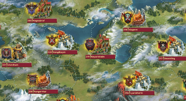 Vikings: War of Clans Clan Guide - Kingdoms