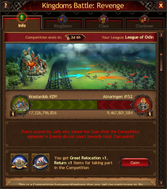 Vikings: War of Clans Events Guide - Kingdom
