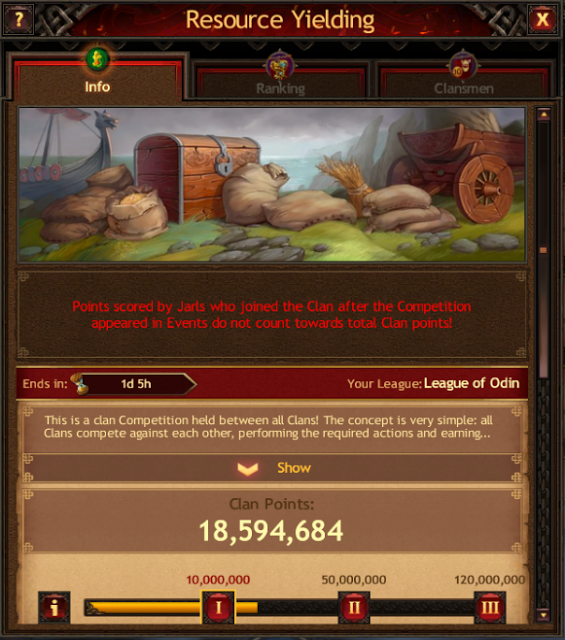 Vikings: War of Clans Events Guide - Resources