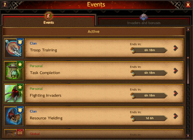 Vikings: War of Clans Events Guide - Events