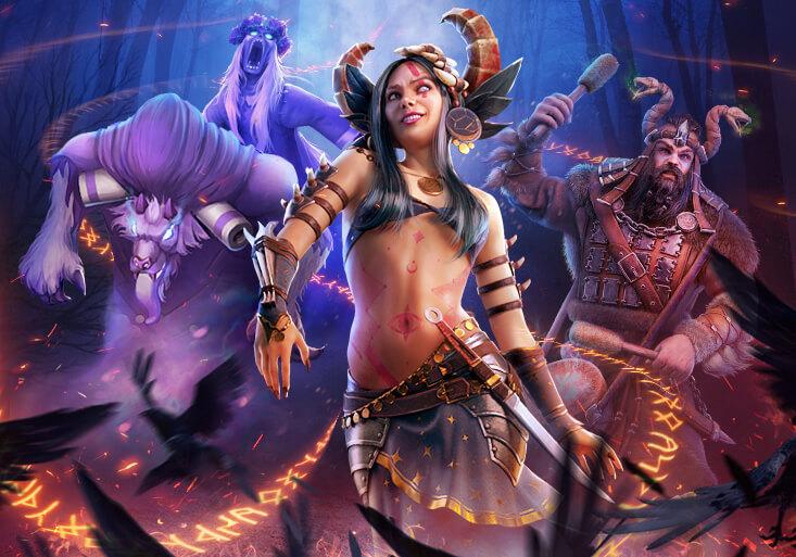 Sciamani in Vikings: War of Clans