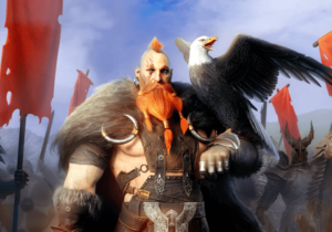 Unique hero Viking